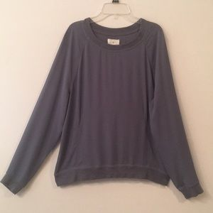 Good condition Lou & Grey Slate Blue Polyester Top